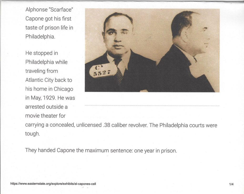 an overview of alphonse scarface capone in the american history Ryan jr, bernard // great american trials2003, p357 the article discusses the income tax evasion trial of alphonse scarface al capone the trial took place on october 6 to 24, 1931 in which he was found guilty and was sentenced to serve 11 years in prison and to pay $50,000 in fines.